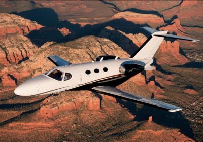 Cessna Citation Mustang Exterior, Cessna Mustang Overhead
