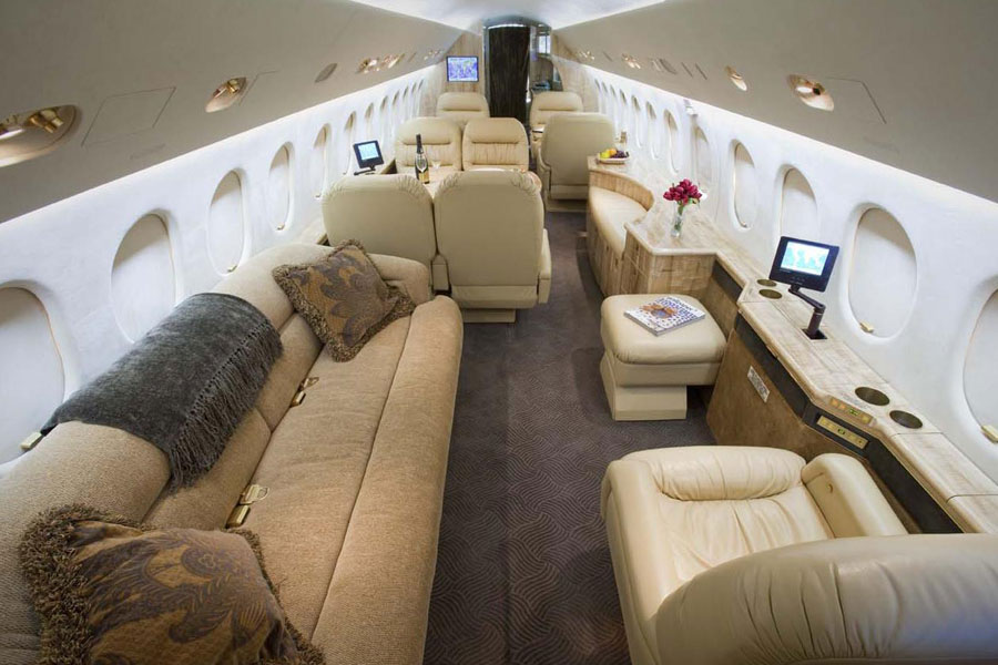 Private Jet Charter Falcon 900 - Jets.com
