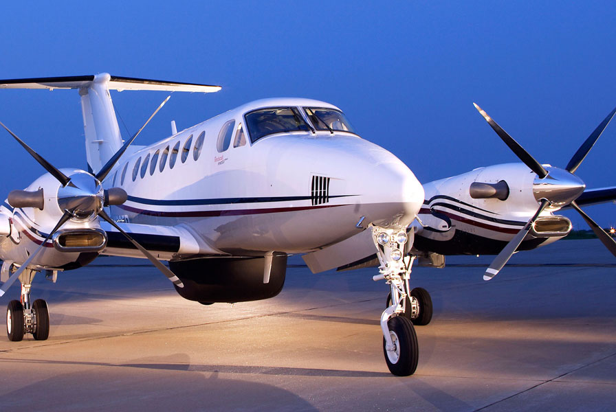 Beechcraft King Air exterior