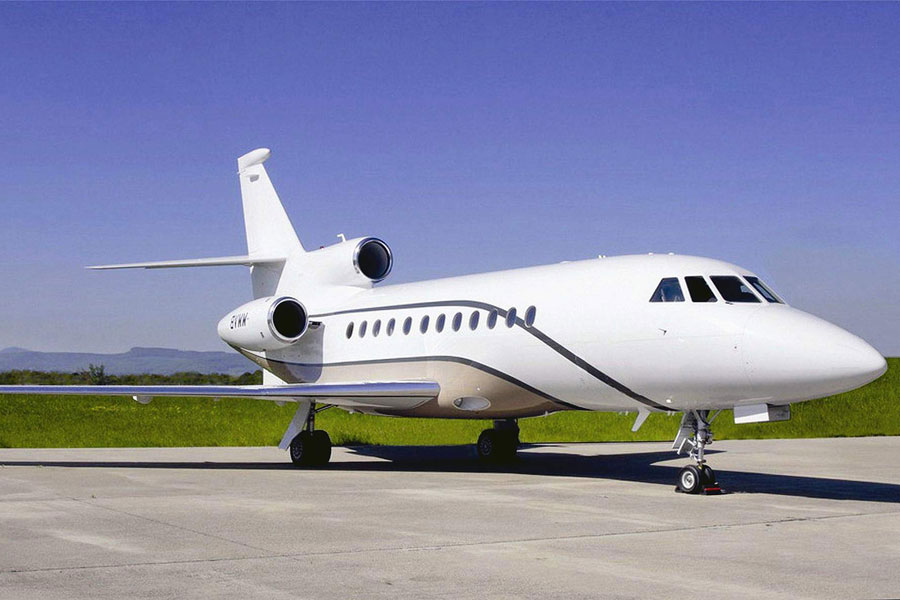 Falcon 900EX Private Jet Charter - Jets.com