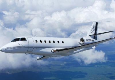 Gulfstream 200, IAI Galaxy exterior, Gulstream 200 in flight