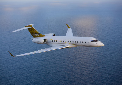 Bombadier Global 6000, global 6000 in flight