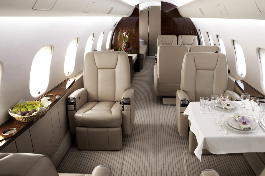 Bombadier Global 6000, global 6000 interior