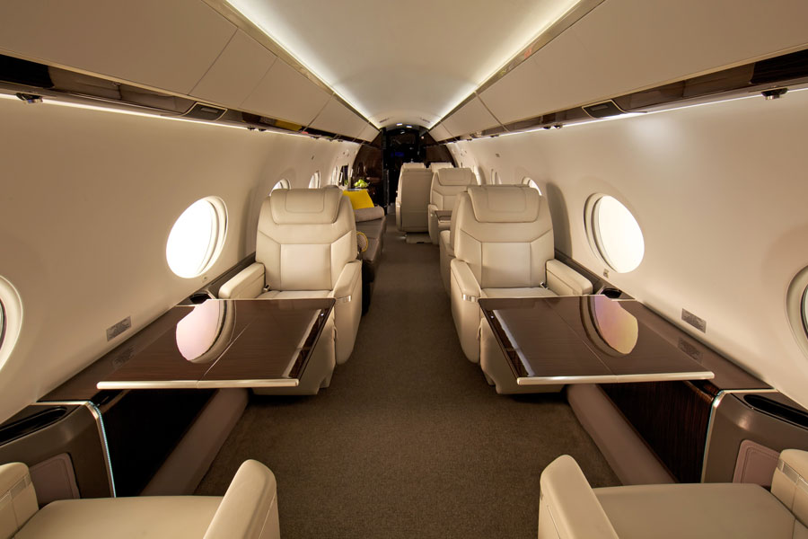 Gulfstream Interior Private Jet Charter - Jets.com