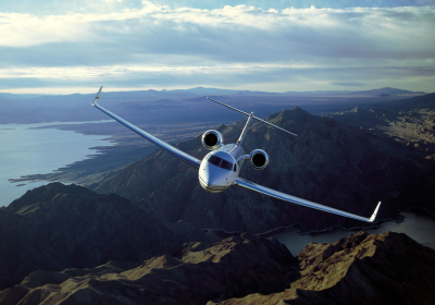 G550, Gulfstream 550, Gulfstream Aerospace, Gulfstream over mountains