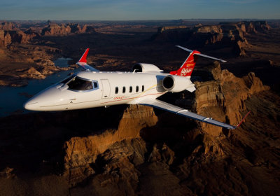 Lear 60XR, bombadier aviation, learjetbombadier aviation, learjet exterior, learjet red rocks trip