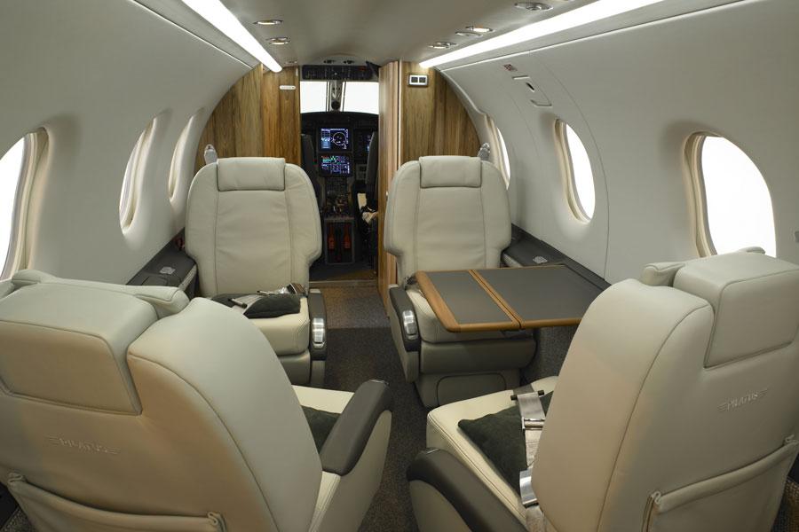Pilatus PC-24 interior, Pilatus seating