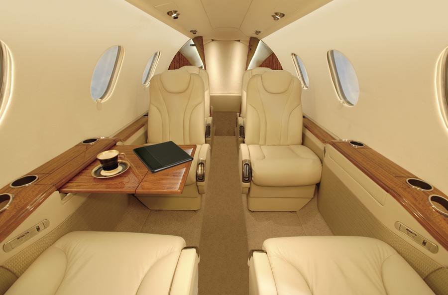 Beechcraft Premier 1, Premier 1 interior
