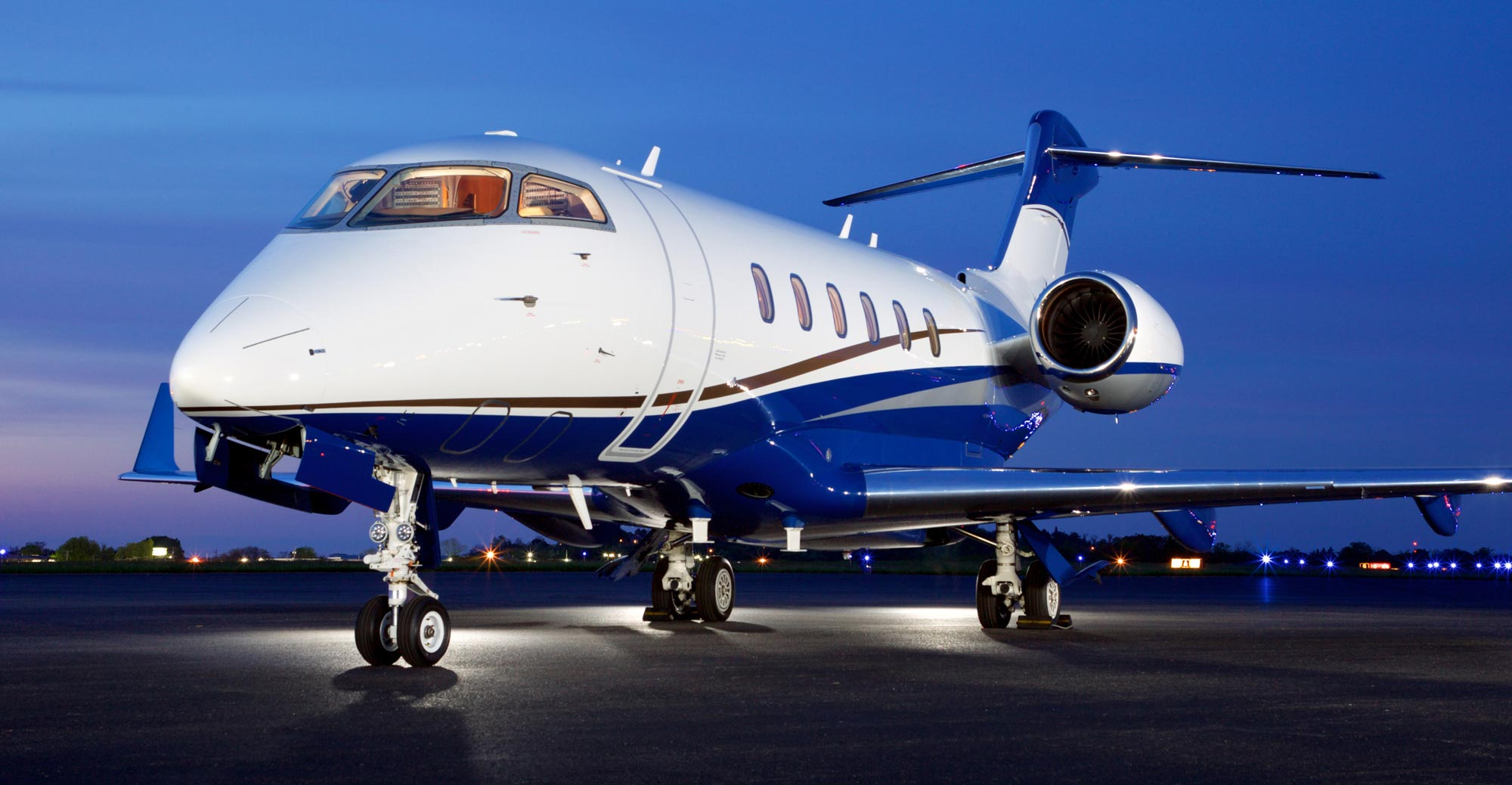 Private Jet Charter Service,  Luxury private jet on runway waiting for clients who bought a jet rental from jets.com